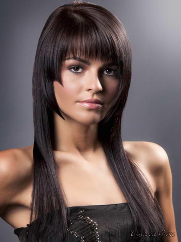 Фото женские стрижки на длинные волосы с выбритыми висками