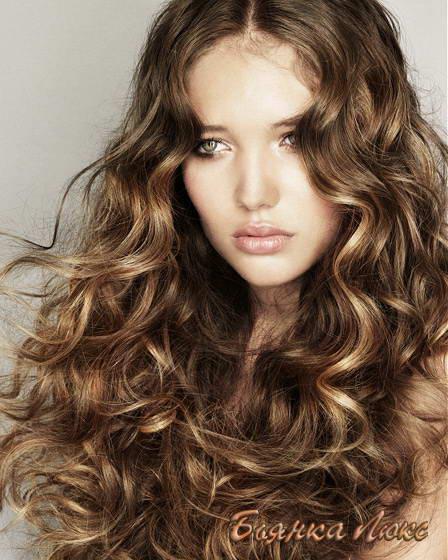 Химках на средние волосы