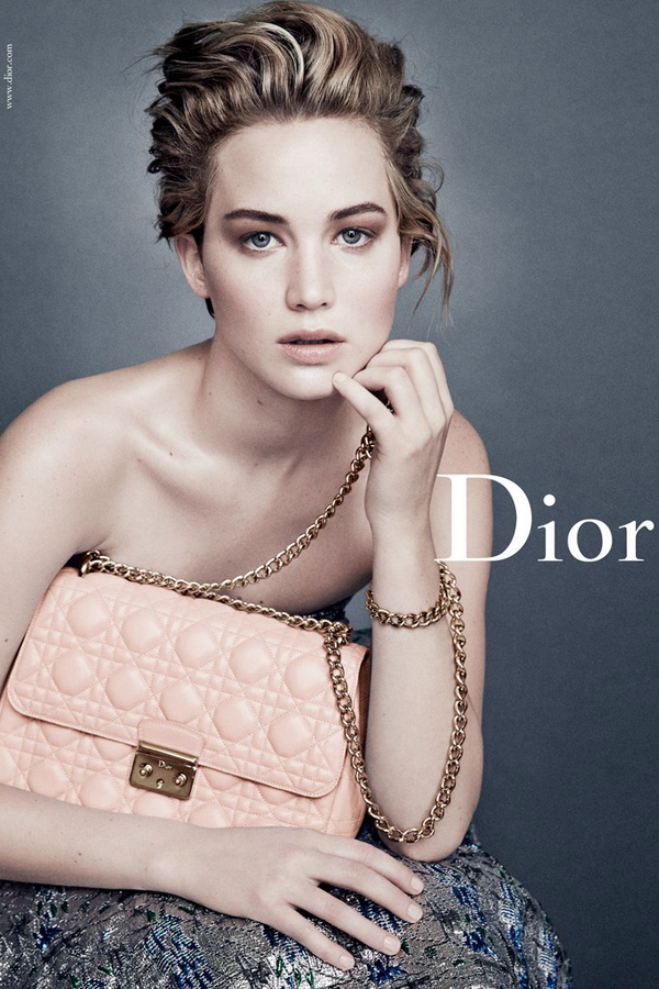 Jennifer Lawrence рекламирует Dior
