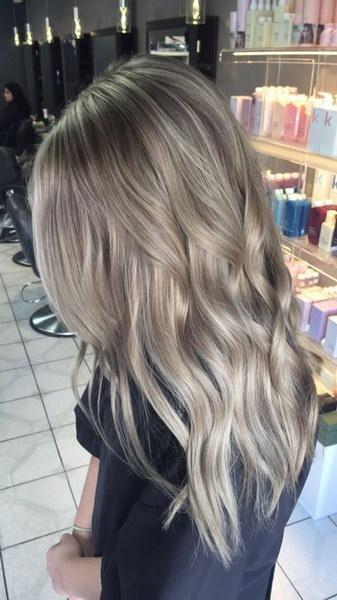 холодный блонд волос фото