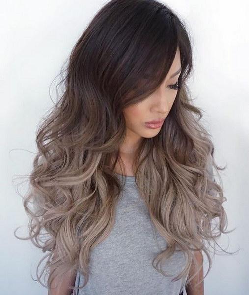 Волосы пепельного цвета холодный оттенок