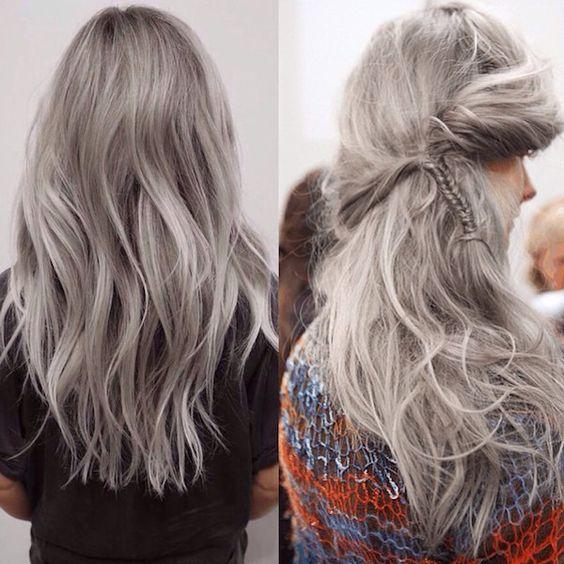 Стиль Granny Hair 2019 8a273292af63d