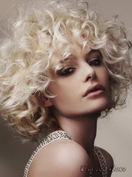 модель на биозавивку волос бесплатно