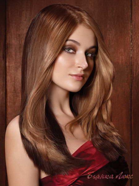оттенки коричневый цвет волос фото