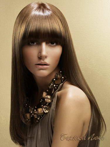 Цвет волос коричнево русый