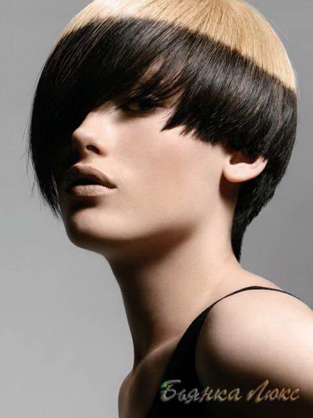 Тонирование на короткие волосы фото
