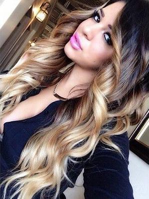Ombre hair color фото на темные волосы