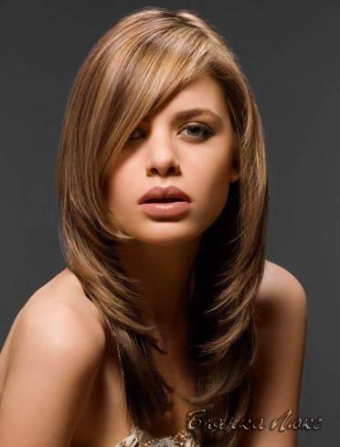 Длинные волосы женские