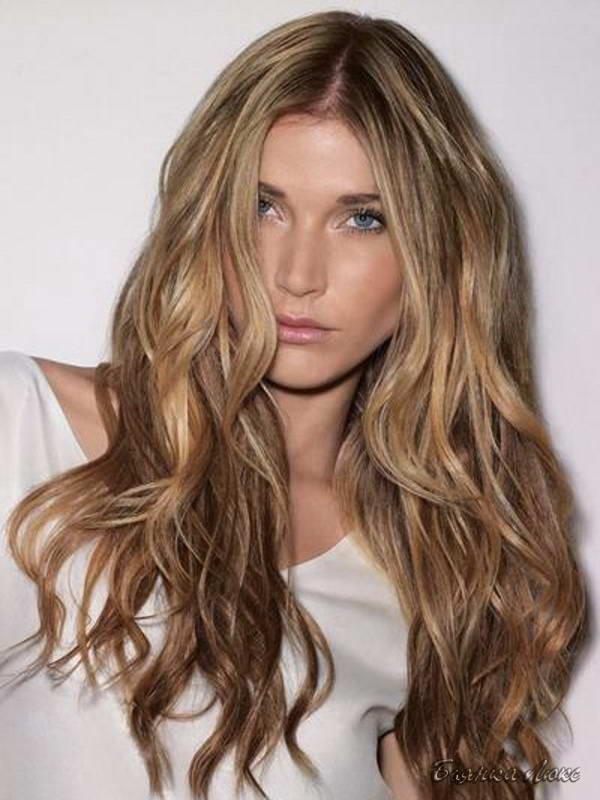 Модные стрижки длинные волосы