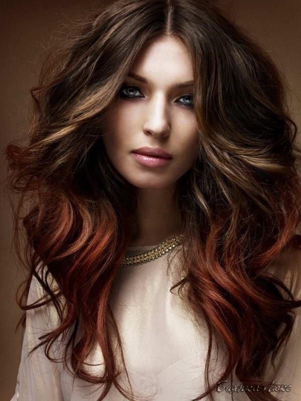 Объемная стрижка на длинные волосы