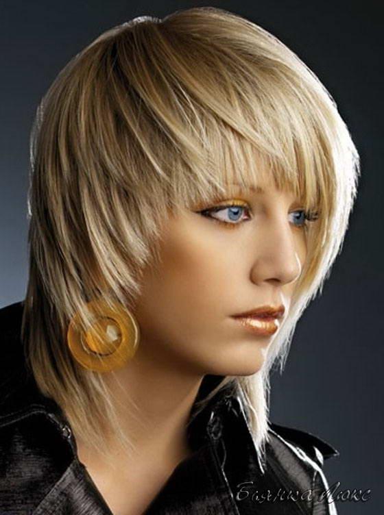 Виды причёсок женских фото с названиями на средние волосы