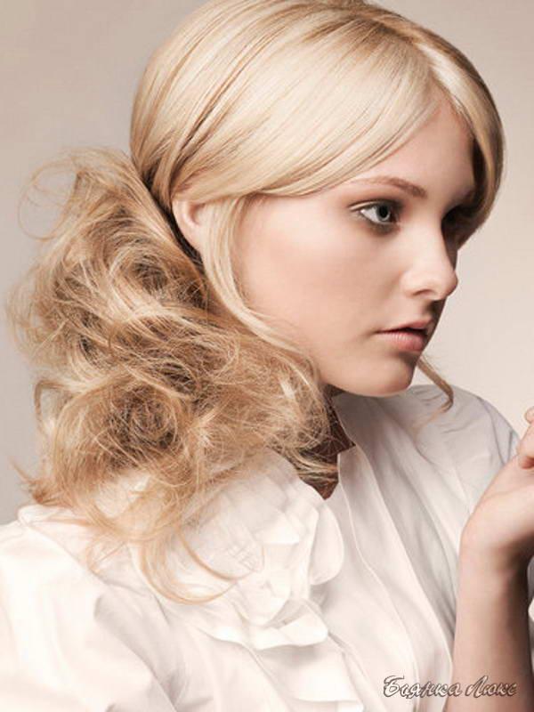Прически на тонкий волос картинки
